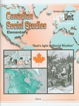 Canadian social studies elementary