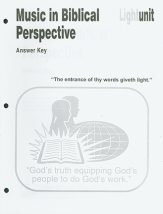 Music in biblical perspective ak