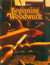 Beginning woodwork student