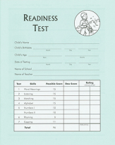 Readiness test student