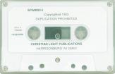 Spanish 1 cassette
