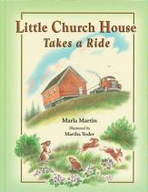 Little church house takes a ride