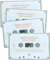 Speedy spanish i cassette set