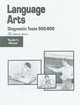 Language arts diagnostics tests 500 800 tg