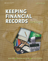 Keeping financial records