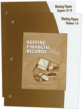 Keeping financial records working papers