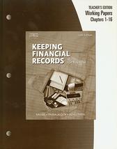 Keeping financial records teacher