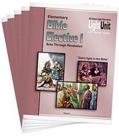 Elementary bible elective lu set