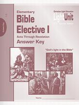 Elementary bible elective ak