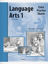 Language arts 1 extra practice sheets