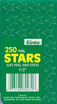 Star stickers green