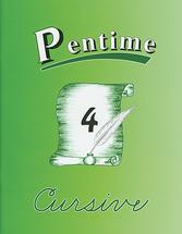 Pentime 4 cursive