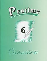 Pentime 6 cursive