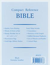 Bible %e2%80%a2 compact reference bible