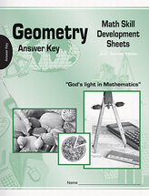 Geometry math skill development sheets ak