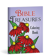 Bible treasures coloring book