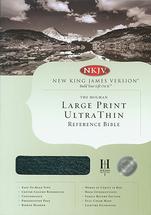 Bible %e2%80%a2 nkjv holman large print ultrathin reference