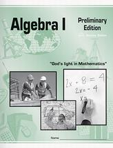 Algebra i preliminary edition