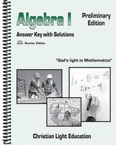 Algebra i preliminary edition tg