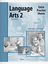 Language arts 2 extra practice sheets