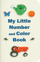 My little number and color book