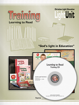 Learning to read training set