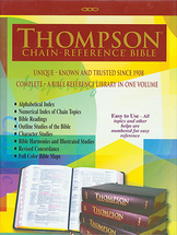 Bible %e2%80%a2 thompsons chain reference