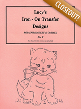 Lucy's iron on transfer design no.7