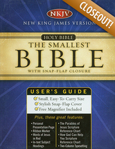 Bible %e2%80%a2 nkjv the smallest bible