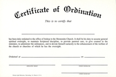 Certificate of ordination %28bishop%29