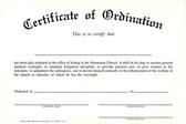 Certificate of ordination %28bishop%29
