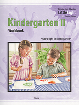 Kindergarten ii workbook