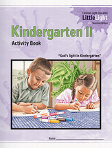Kindergarten ii activity book