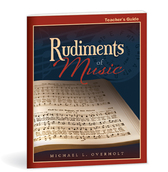 Rudiments of music teacher's guide