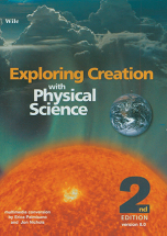Exploring creation with physical science cd course