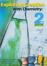 Exploring creation with chemistry cd course