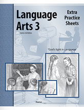Language arts 3 extra practice sheets