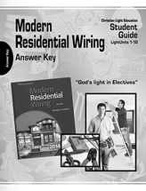 Modern residential wiring teacher