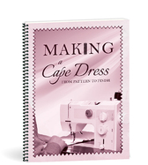 Making a cape dress