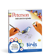 Peterson field guide coloring books birds