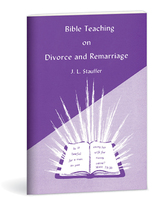 Bible teaching on divorce and remarriage