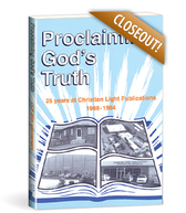 Proclaiming god's truth