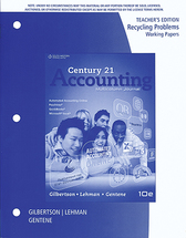 Accounting recycling papers teacher