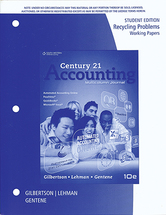 Accounting recycling papers student
