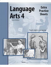 Language arts 4 extra practice sheets