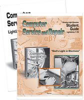 Computer service and repair student