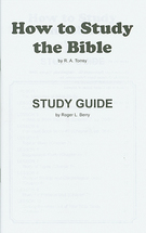How to study the bible study guide