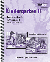 Kindergarten ii teachers guide