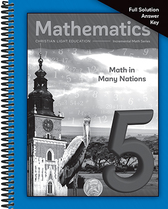 Mathematics 5   math in many nations full solution key