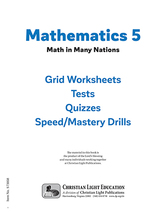 Mathematics 5   math in many nations student pack